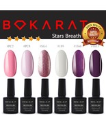 Bokarat ~Stars Breath~ Supper Set 7.3ml x 6pcs Soak Off UV LED Gel Nail ... - $21.99