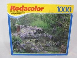 """Kodacolor Purple Homestead In GA 1000 Piece Puzzle 18"""" x 26"""" NEW and SEALED - $11.87"""