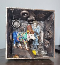 Knowledge or Money is Mixed Media, Assemblage Art, Abstract, Insperation... - $175.00