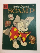 Walt Disney's Scamp Four Color #833 1957 FC Dell Vintage Ungraded  - $16.10