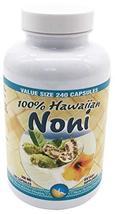 Hawaii Nutrition Company - Noni - 100% Grade A Noni Fruit Capsule - 240 Capsules image 2