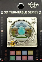 Hard Rock Cafe Four Winds Casino Limited Edition 2018 3d Turntable Serie... - $21.99