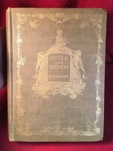 PETER AND WENDY- J.M. Barrie - First American Edition 1911 with seal (Pe... - $377.30