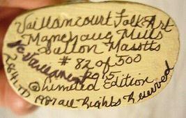VAILLANCOURT FOLK ART RABBIT WITH UMBRELLA LTD PERSONALLY SIGNED by Judi! image 5