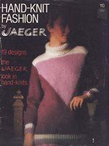 1980 Jaeger Misses Mens Hand Knit Sweater Coat Jacket Slipover Cardigan ... - $12.99