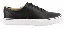 Sperry Top-Sider Femmes Cuir Noir Endeavor CVO Chaussures Baskets STS80559 Nib