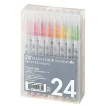 Kuretake ZIG clean color real brush Calligraphy Pen 24VRB-6000AT / 24V x... - $39.58
