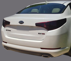 FITS 2010-2013 Kia Optima vinyl tail light covers tints smoked 6 pieces - $20.78