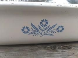 Corning Ware Blue Cornflower P-76-B Large Open Roaster Lasagna Pan Baking Dish - $34.60