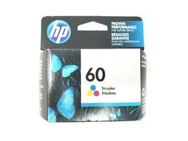 Genuine HP 60 Tri Color Inkjet Cartridge Lot of 2 CC643WN ~ Sealed Exp 11//2017