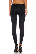 Rag & Bone Women's Lawson Premium Leggings Pants, Black Chevron image 2
