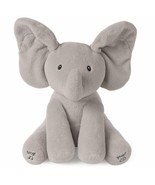 "Flappy Elephant Animated Plush Baby Toy Stuffed Animal Plush Gray 12"" Sa... - $39.50"
