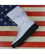 Nike Air Force 1 Sage One High White Black Calf-High Boot [AQ2771-100] W... - $98.88