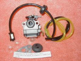 Carburetor For WALBRO WYL-161-1 CARBURETOR REPLACEMENT CARB Fuel Line Kit - $12.23