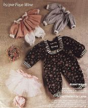 """Faye Wine Country 25"""" Bunny Rabbit Doll Ballerina Nautical Clothes Sew Pattern - $10.99"""