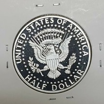 2019 S First .999 Fine Silver Kennedy Half Dollar Proof Coin image 2