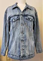 Lucky Brand Denim Jacket Sz-L Blue 100%Cotton - $39.97
