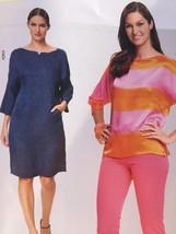 Burda Sewing Pattern 7203 Misses Ladies Shirt Dress Size 10-22 New - $13.41