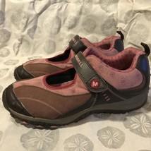 Merrell Brown Rose Chameleon Arc Jump  Performance Velcro Strap Shoes 6.... - $573,05 MXN
