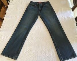 Arizona Boy's Original Straight Blue Jeans Size 14 Regular (28 x 28) - $9.95