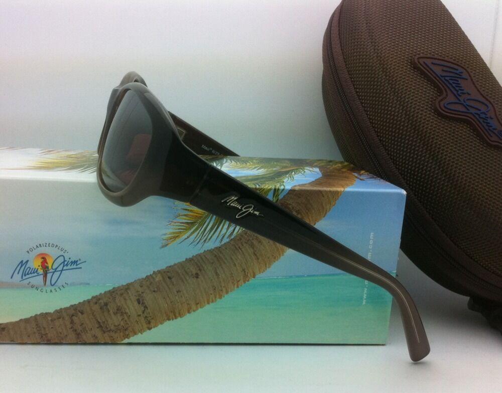 Maui Jim Gafas de Sol Polarizadas Punchbowl Mj 219-01 Chocolate Monturas con /