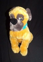 "Disney Drooler Dog 101 Dalmatians Tan Brown Blue Collar Plush 13"" - $2.45"