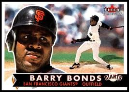 2001 Fleer Tradition #31 Barry Bonds NM-MT San Francisco Giants - $2.49