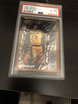 1996-97 Kobe Bryant PSA 6 Topps Finest Rookie Rc #74 *NICE* W/Coating BL... - $494.99