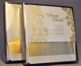 Hallmark: Sincere Thanks - Thank You Cards - 2 Packs of 10 Cards Each - $11.61