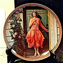 1983 Standing in the doorway by Norman Rockwell with Box ( Knowles ) AA20-CP2168 image 6