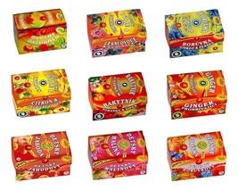 Fruit Teas - Cut Tea Bags -  Ascorbic Acid Echinacea Linden Ginseng Ging... - $7.95+