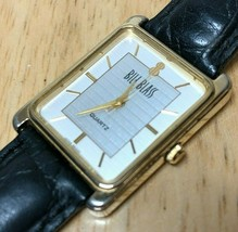 Vintage Bill Blass Men Hot Style Rectangle Analog Quartz Watch Hours~New... - $18.99