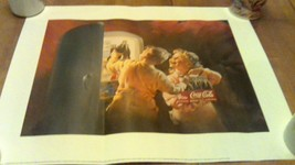 1995 Coke Coca-Cola 16 x 20 Advertising poster O.S.P. Publishing - $16.34