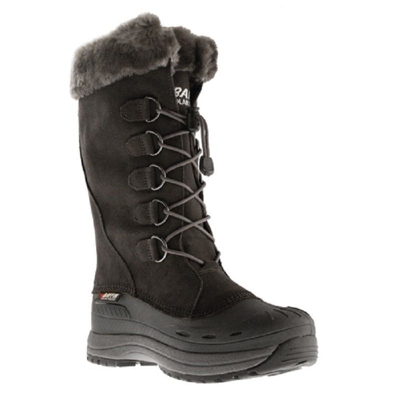 New Ladies Gray Size 6 Baffin Judy Snowmobile Winter Snow Boots -40F/C