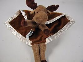 My Banky Brown Chuckie Moose Security Blanket L... - $31.88