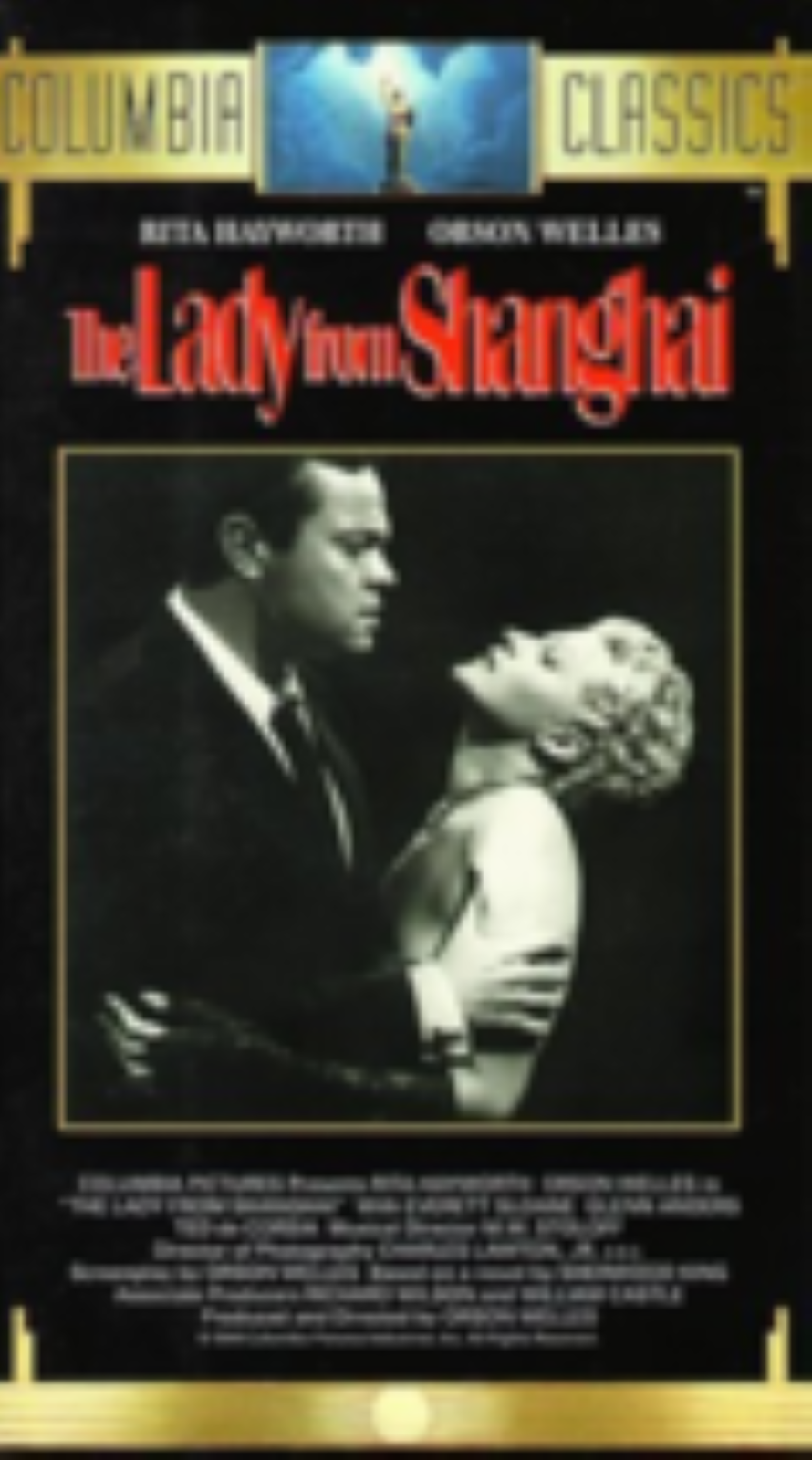The Lady from Shanghai Vhs