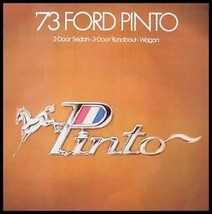 1973 Ford Pinto Original Sales Brochure - $7.40