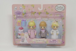 Precious Moments To Have and To Hold Wedding Bride Groom Figures & Acces... - $46.74