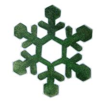 (02)Christmas Snowflake Wall Sticker Silicone Glass Sticker Large Window... - $14.00