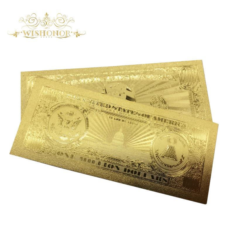 Million dollar gold bill 1