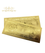 1 Million Dollar USA Banknote Bill in 24K Gold Paper Money For Perfect G... - $24.95
