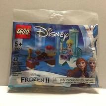 New Disney Frozen 2 Elsa's Winter Throne Lego Polybag 42 piece Set - $9.95