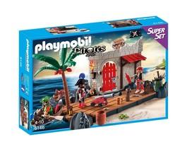 PLAYMOBIL Pirate Fort Super Set - $33.77