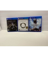 Lot Of (3) PS4 Games - Star Wars Battlefront Elder Scrolls Online, Shado... - $16.83