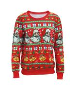 Unisex Sweaters Fashion Santa Claus X-mas Tree Reindeer Patterned Sweate... - $28.50