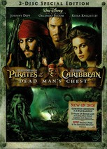 Pirates of the Caribbean 2: Dead Man's Chest, 2 DVD Special Collectors E... - $14.99