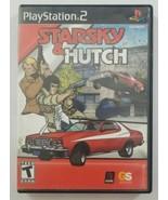 Starsky & Hutch PS2 Game No Manual 2003 Gotham Games Playstation 2 - $5.89