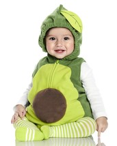 Carters Avocado Halloween Costume Size 3-6 Months Boy or Girl 3 Piece Set - £31.69 GBP