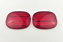 1991-1996 Chevy Corvette GM C4 Rear Tail Light Lens RED 91 92 93 94 95 96