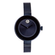 Movado Bold 3600425 Ladies Blue Dial Blue Stainless Steel Bracelet Watch... - $589.05